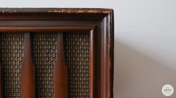 zenith record cabinet
