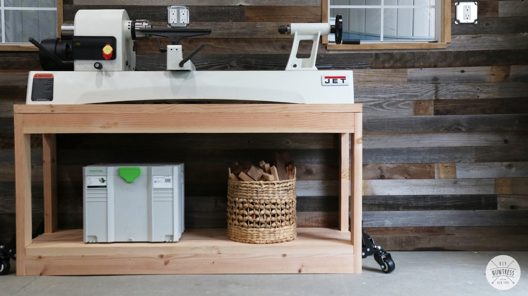 DIY Rolling Workbench