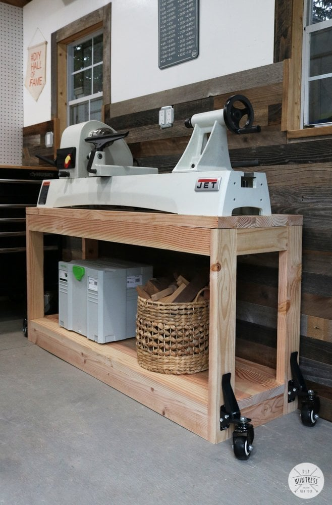 workbench with wheels