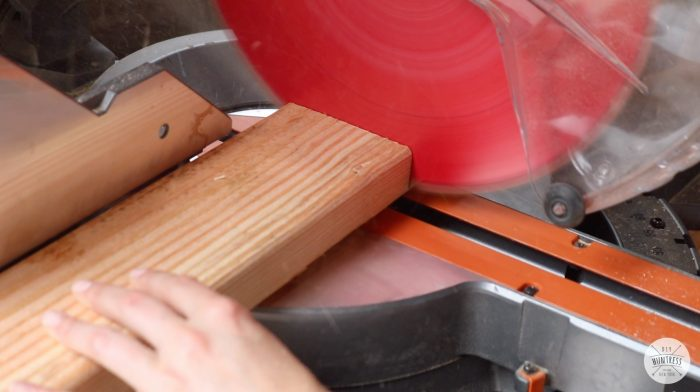 how to cut 2x4 boards