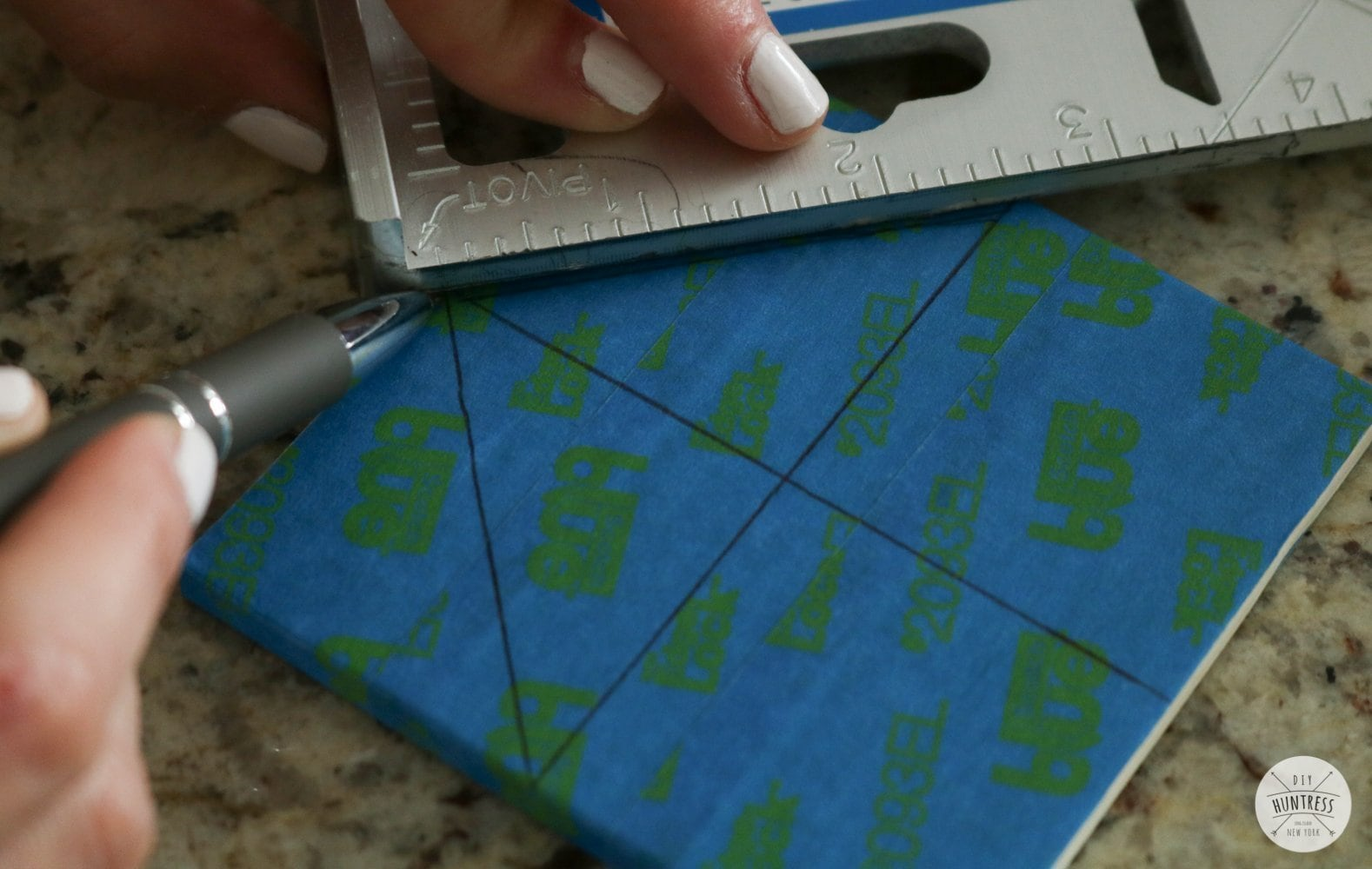 how to cut custom stencils