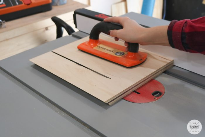 how to cut bevels on a table saw