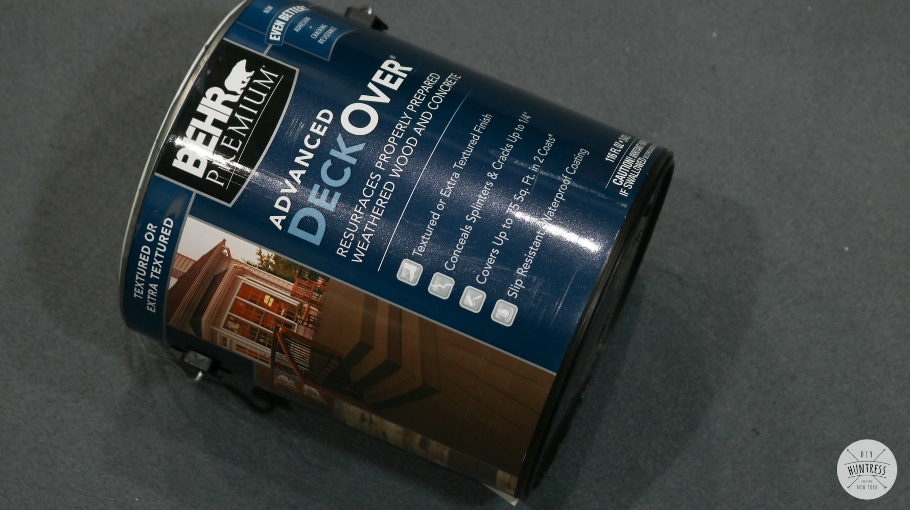 how to install behr deck over paint