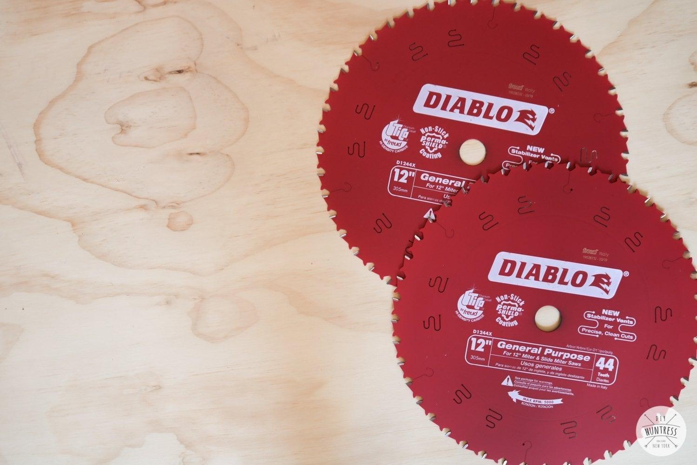 diable wood blades