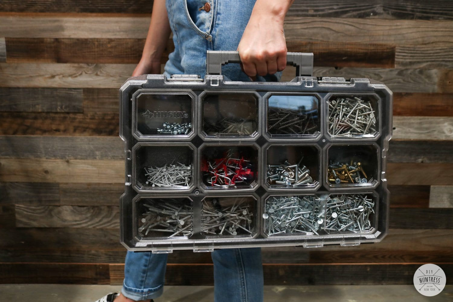 husky small parts tool organizer