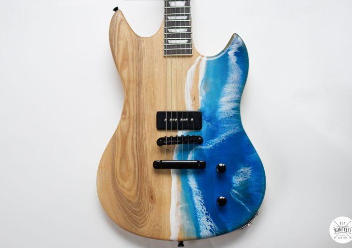 resin ocean guitar