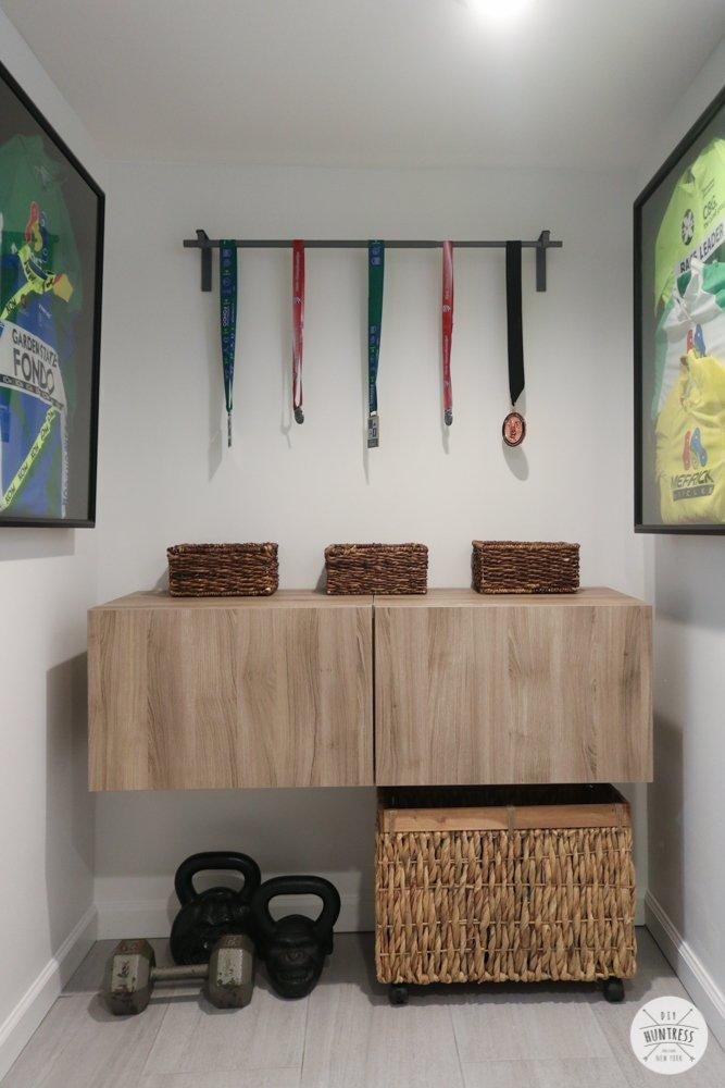 home gym cycling room idea
