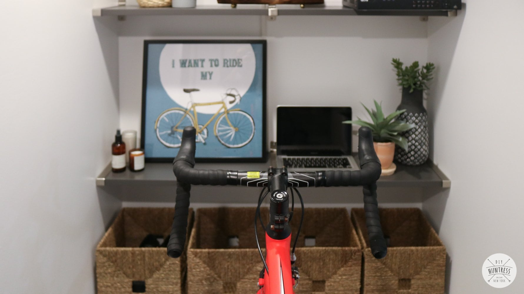 diy home cycling training room