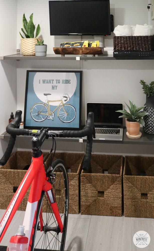 pain cave bicycle room ideas