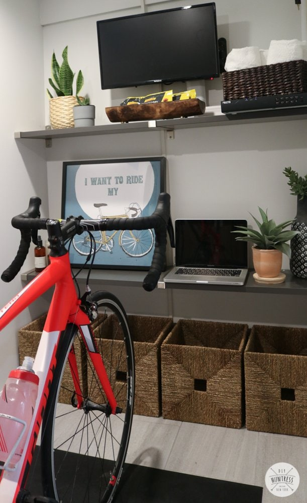 bicycle room ideas