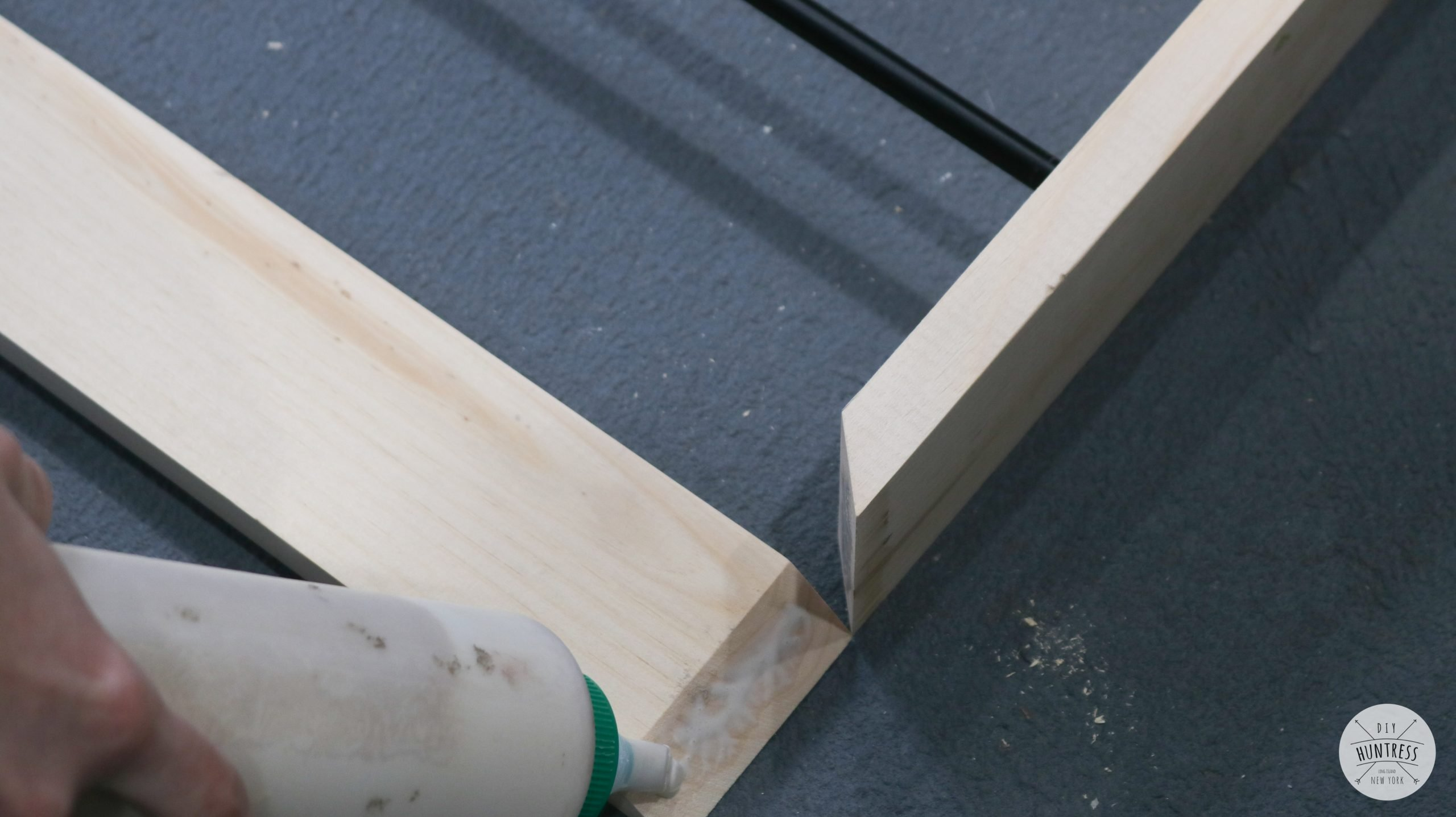 how to make a miter joint