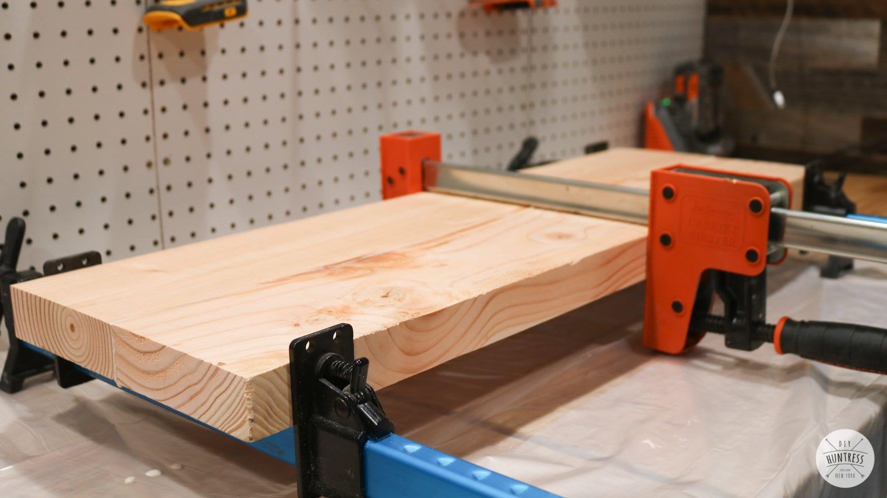 laminating wood panels