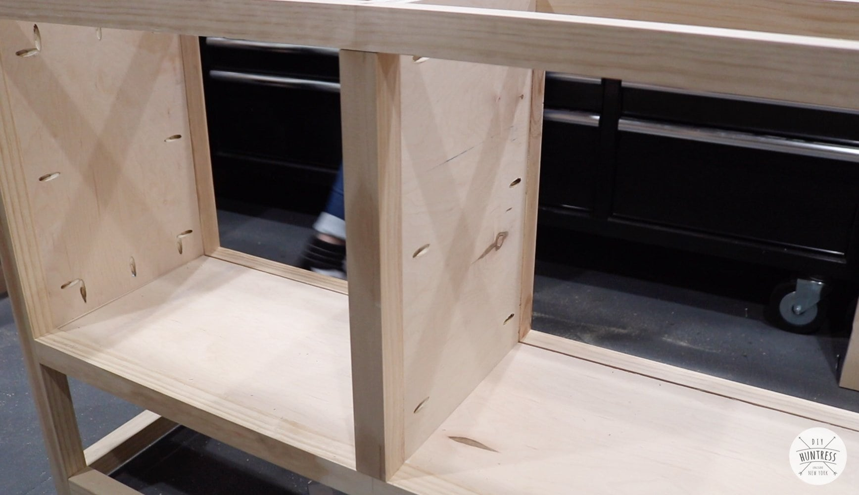 building a custom cabinet woodworking