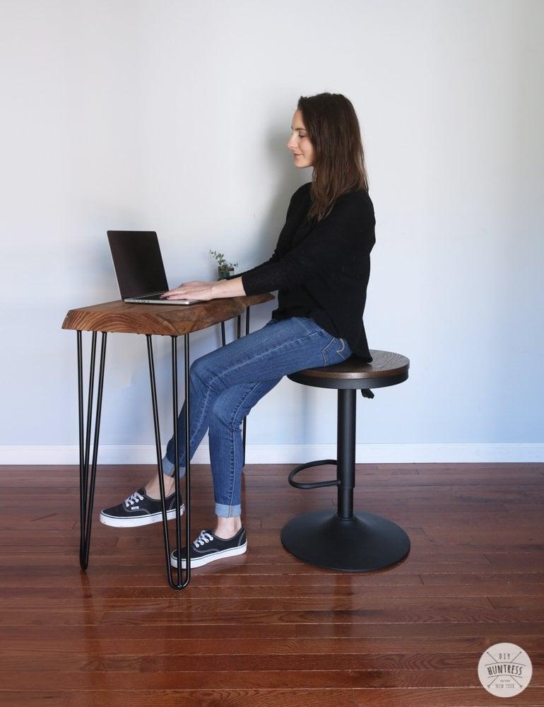 easy diy desk plans
