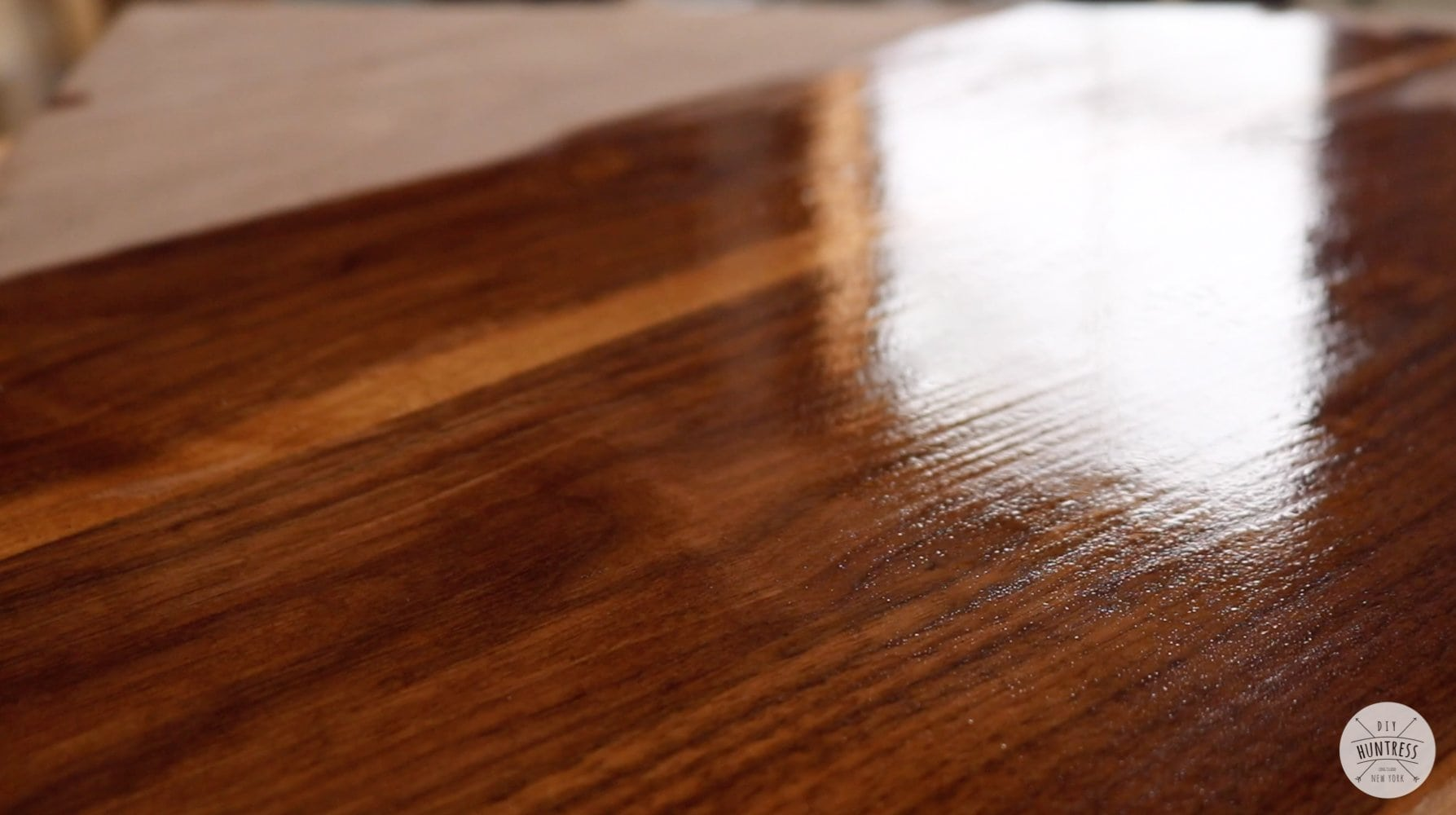 wood finish for walnut