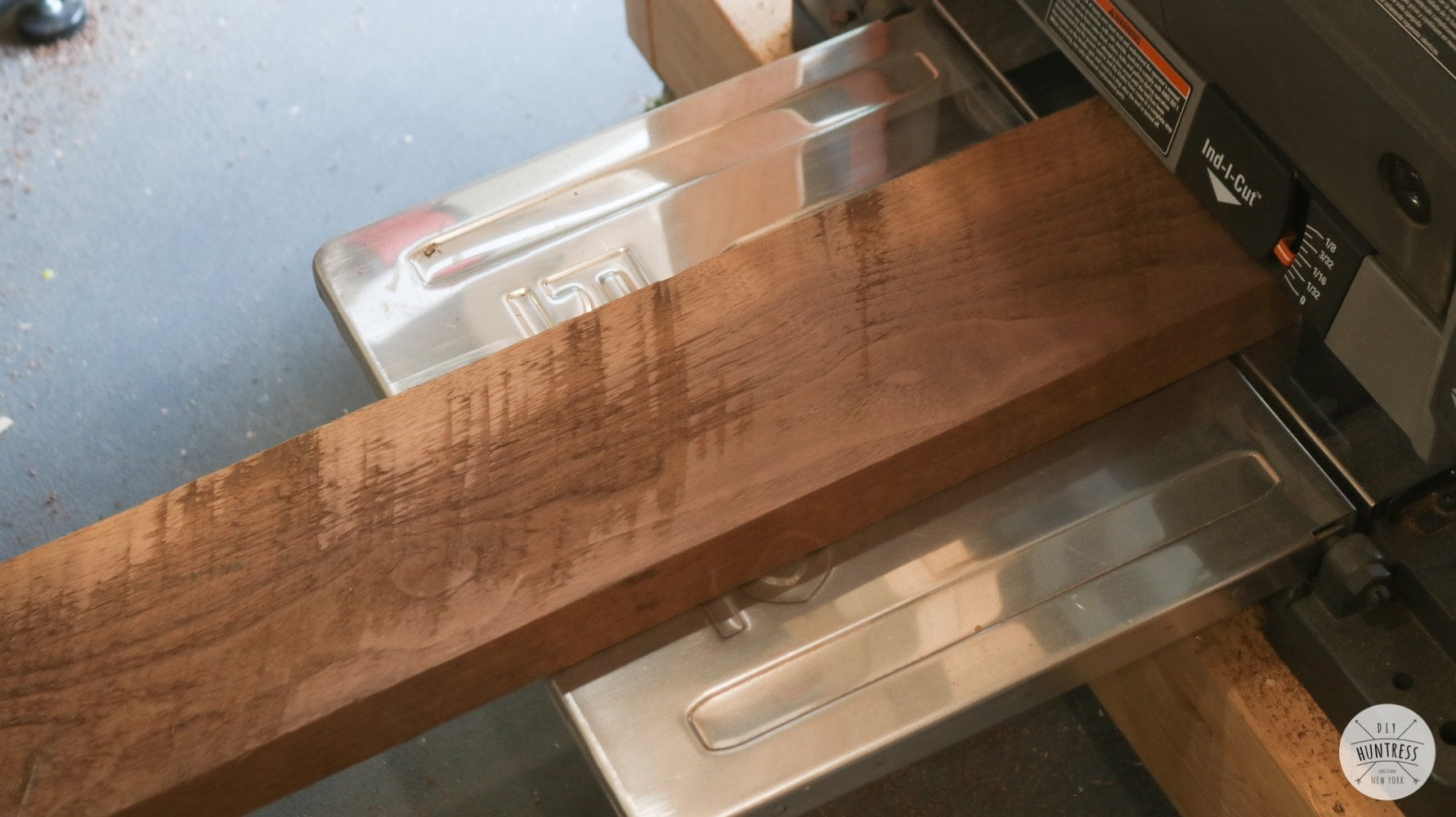 how to flatten wood