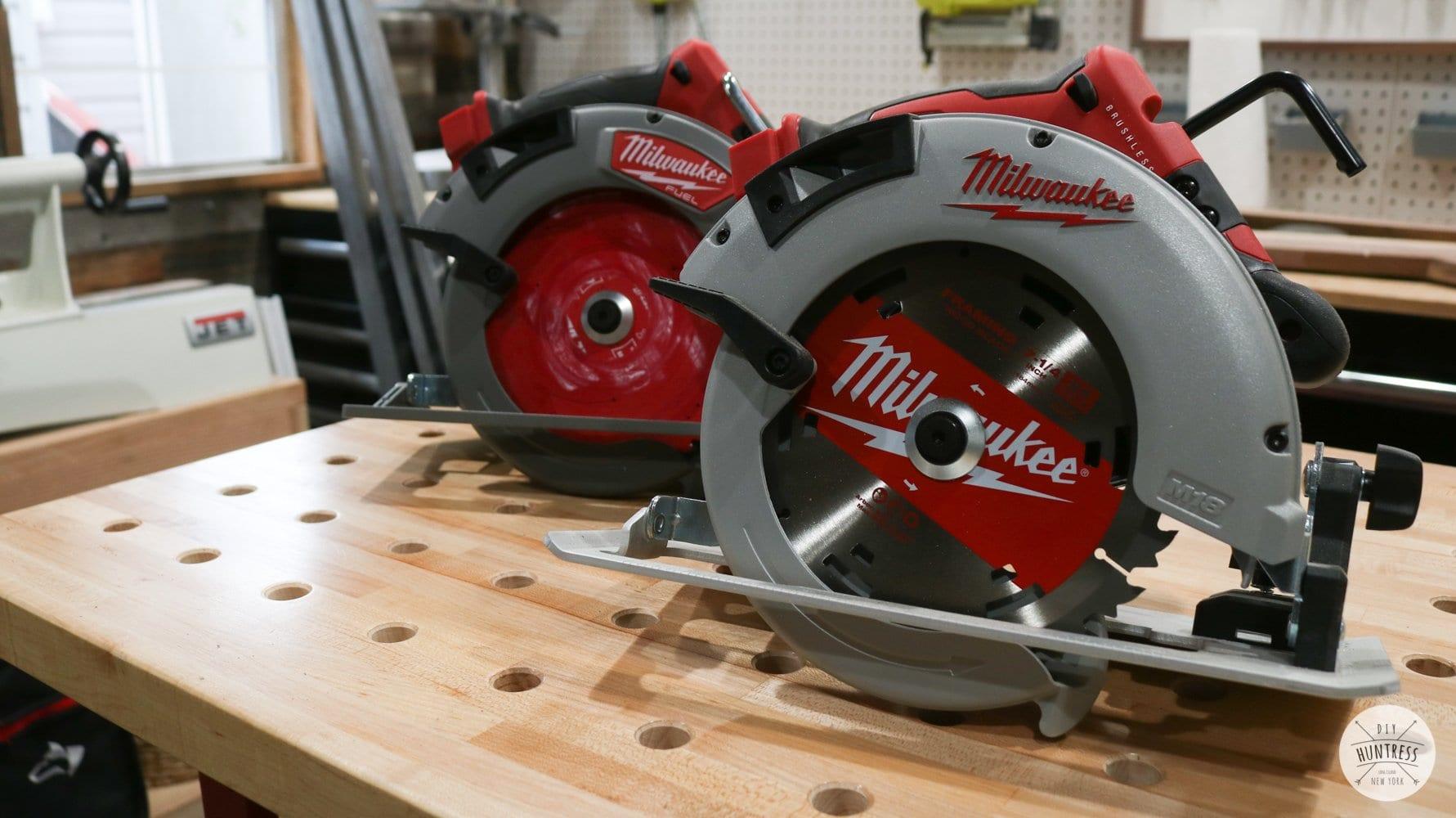 metal cutting blade on circular saw