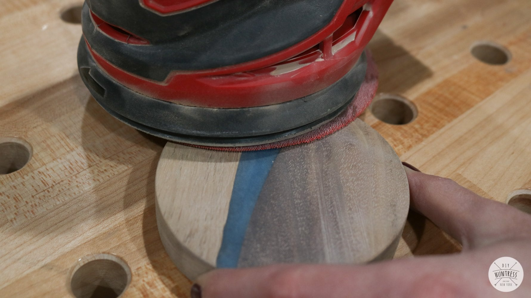 how to sand coasters and cutting boards