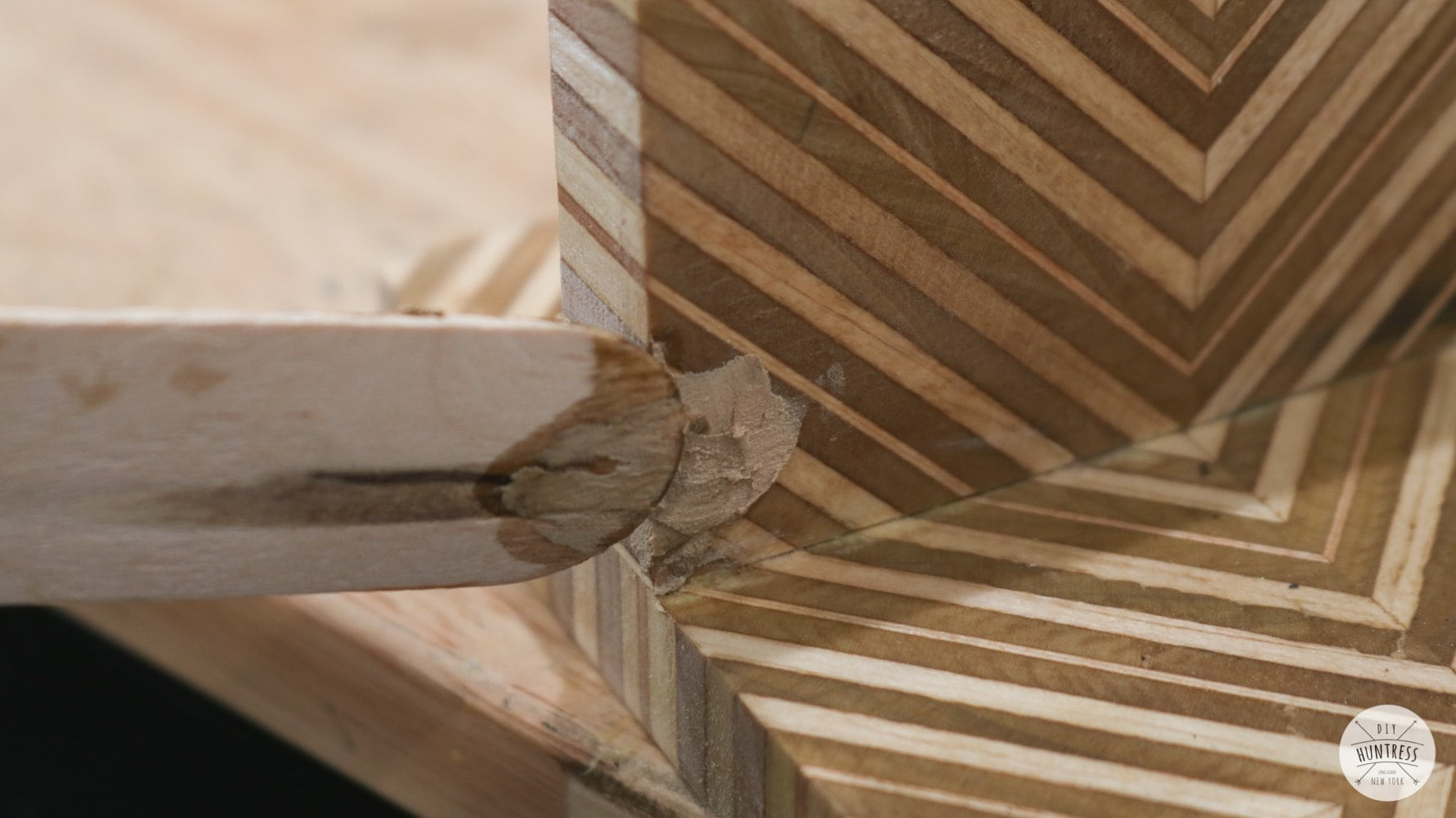 how to tint wood putty