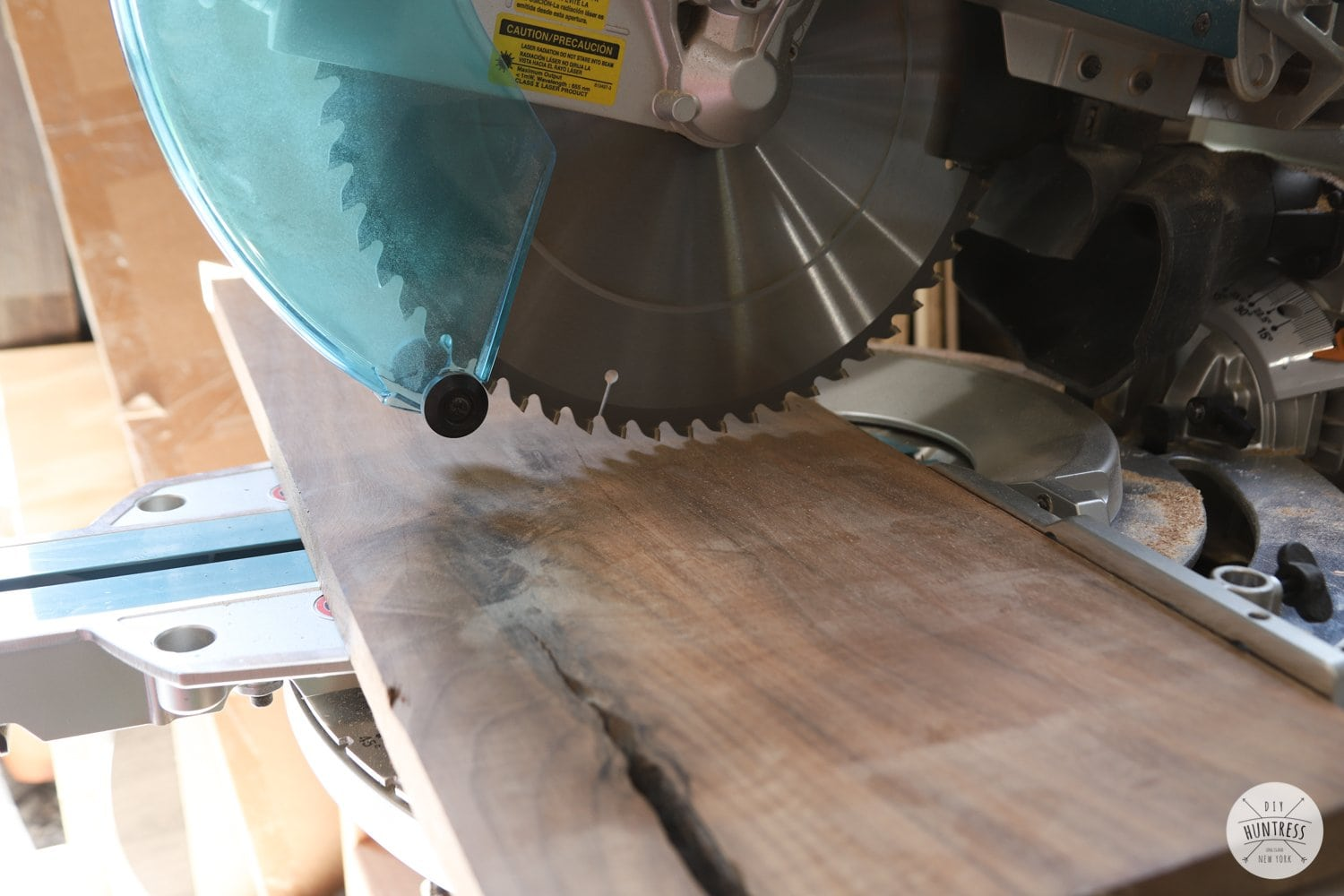 miter saw walnut