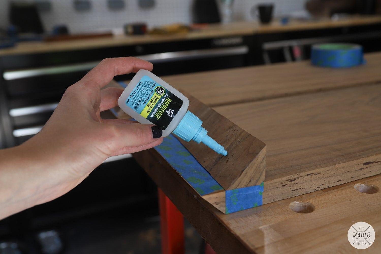 dap rapid fuse on wood