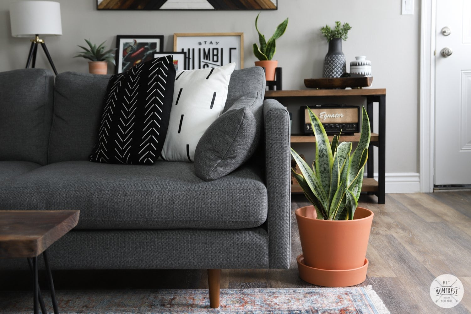 Rental Refresh: Small Apartment Living Room Makeover