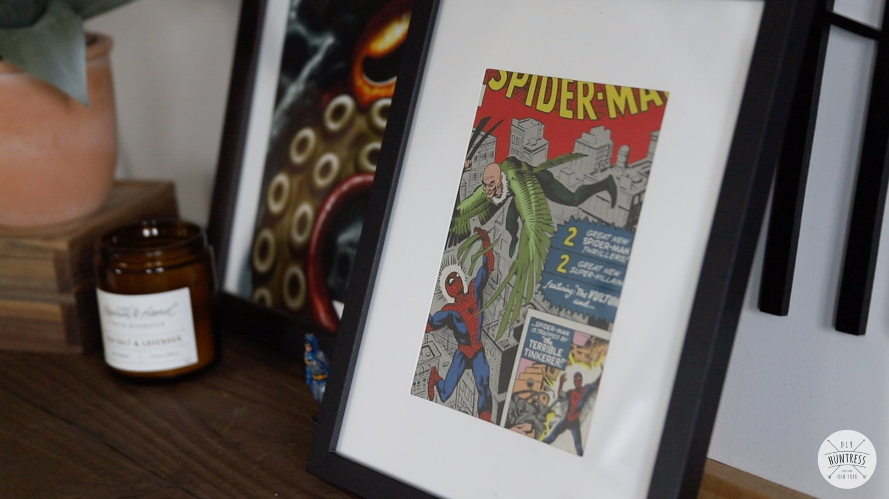 diy comic book frame