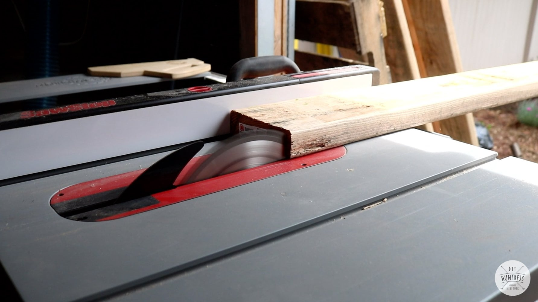 how to rip 2x6 on table saw