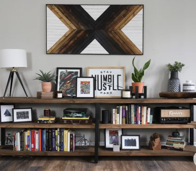 diy custom bookshelf