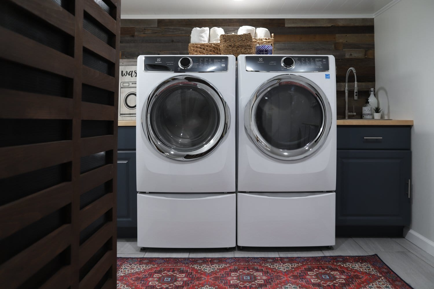 Diy Basement Laundry Room Makeover Diy Huntress