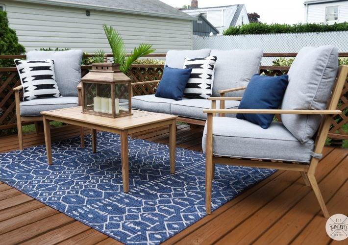 backyard maekover deck