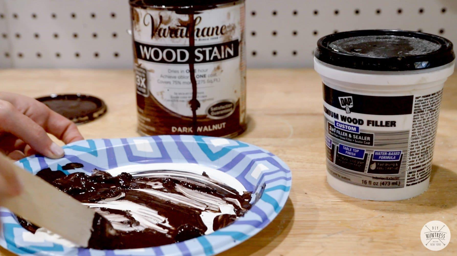 dap premium wood filler tinted putty