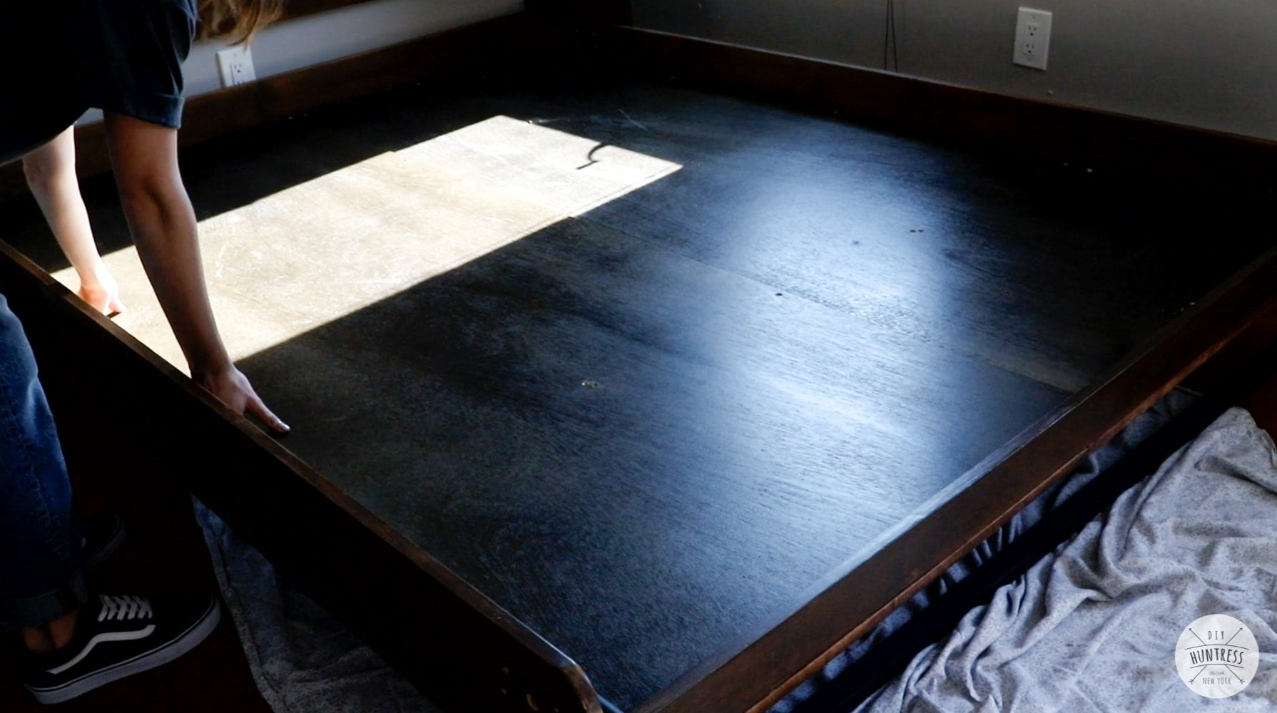 building bed frame for murphy bed mattress