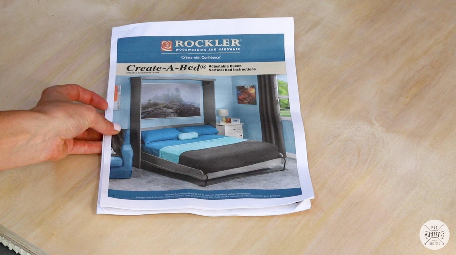rockler diy murphy bed kit plans