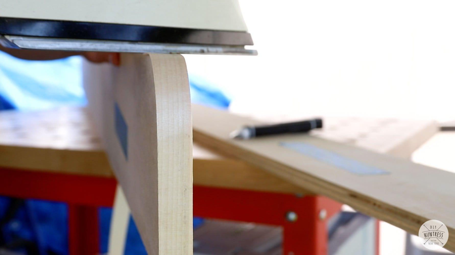 "applying edge banding to 3/4"" plywood"