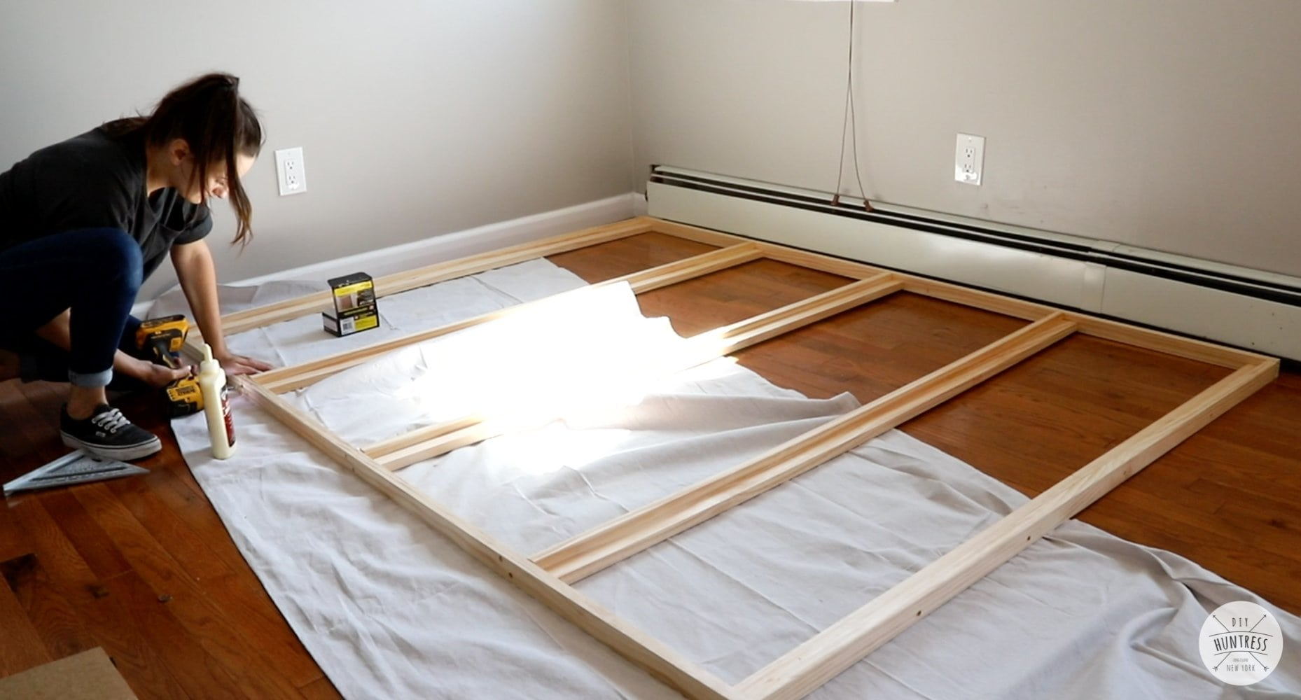 building a murphy bed frame
