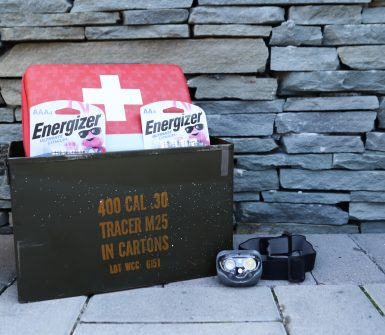 emergency disaster kit storm season
