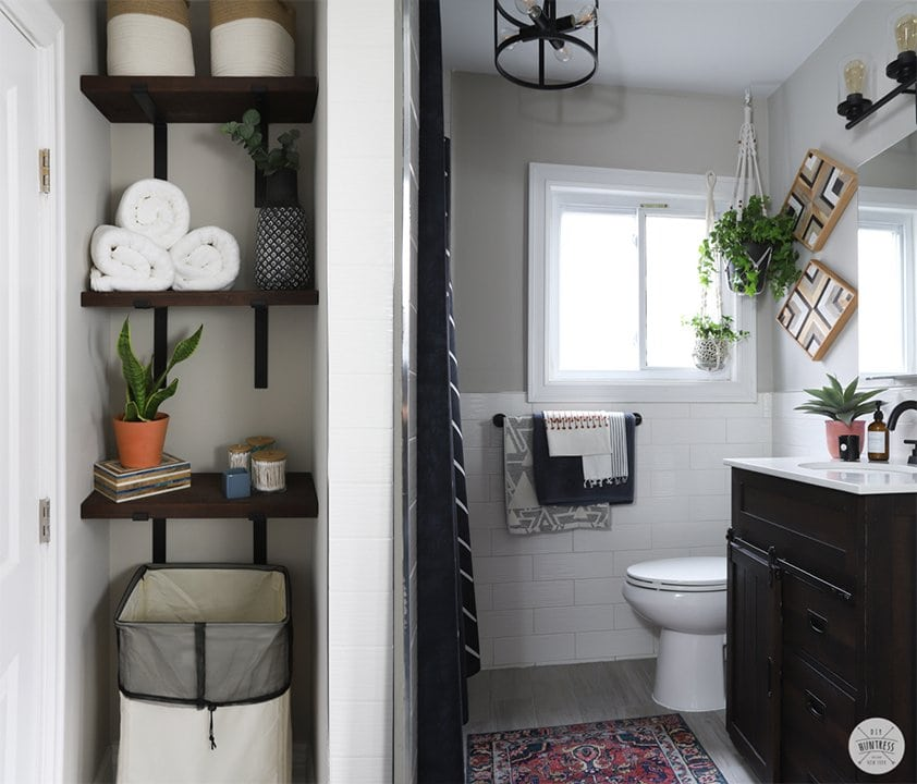 DIY Renter Friendly Bathroom Updates