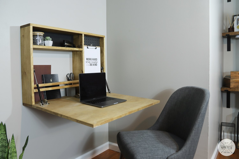 fold down wall desk