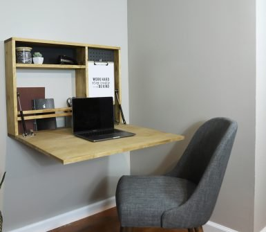 how to build a murphy desk