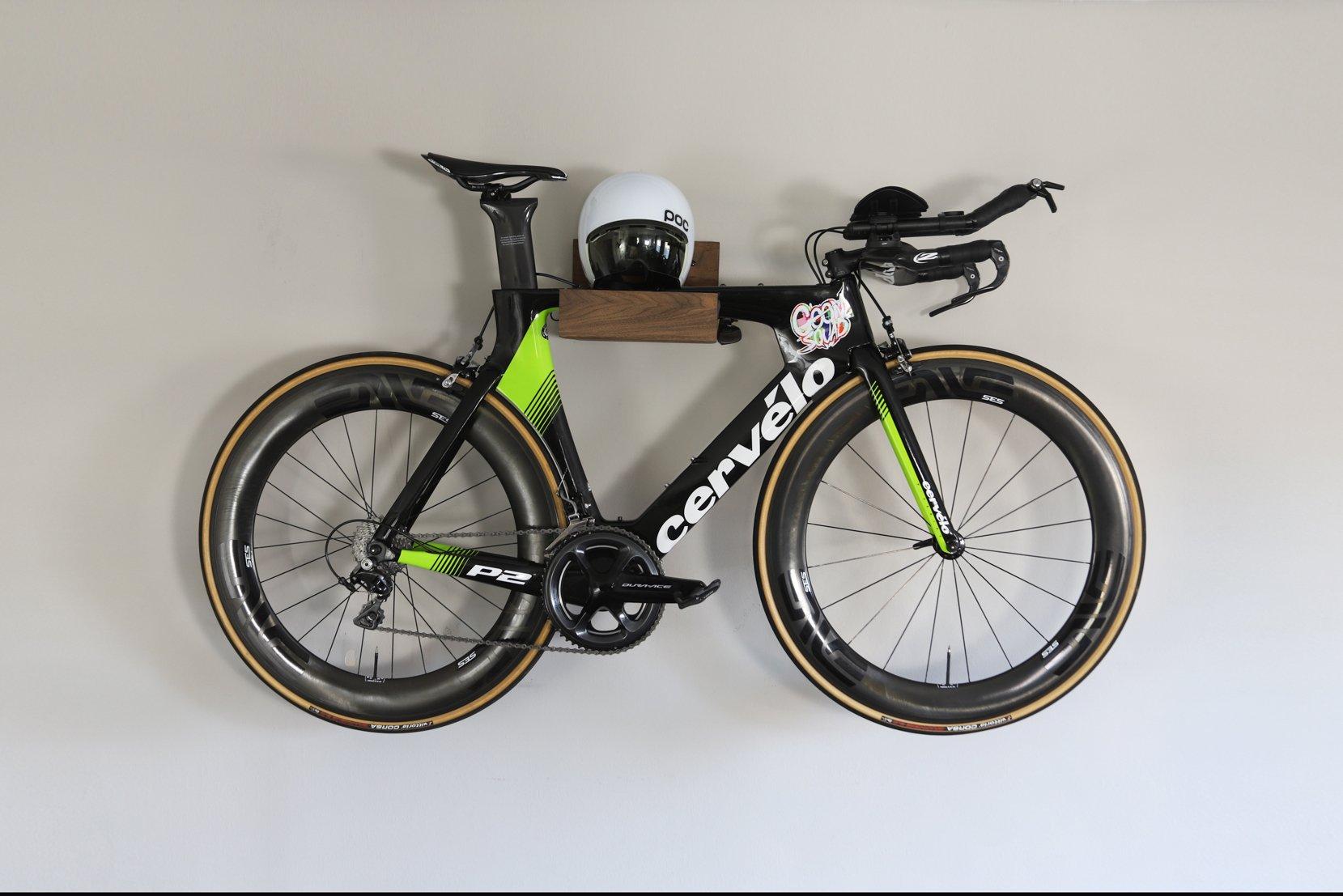DIY Modern Wall Mounted Bike Rack