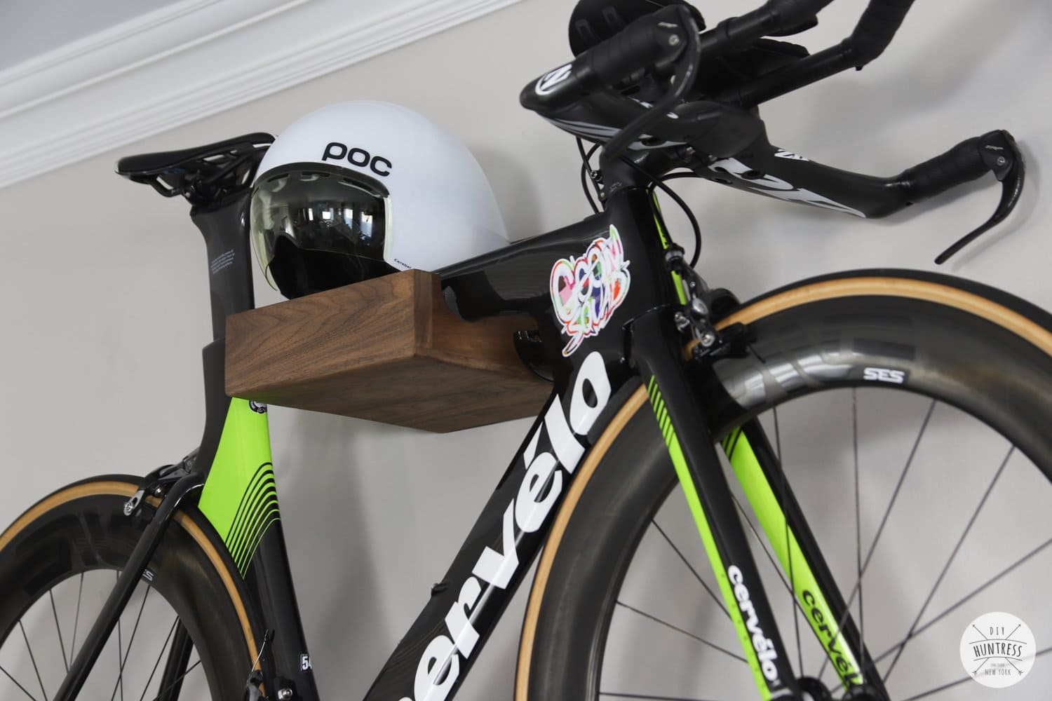 wall mounted bike storage