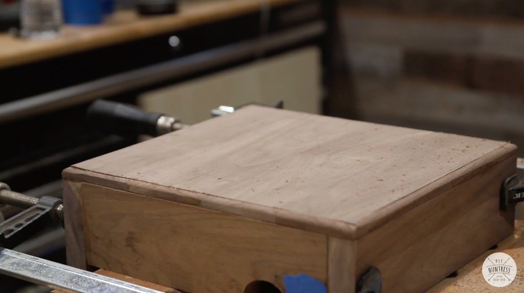 rounding over wood edges with router