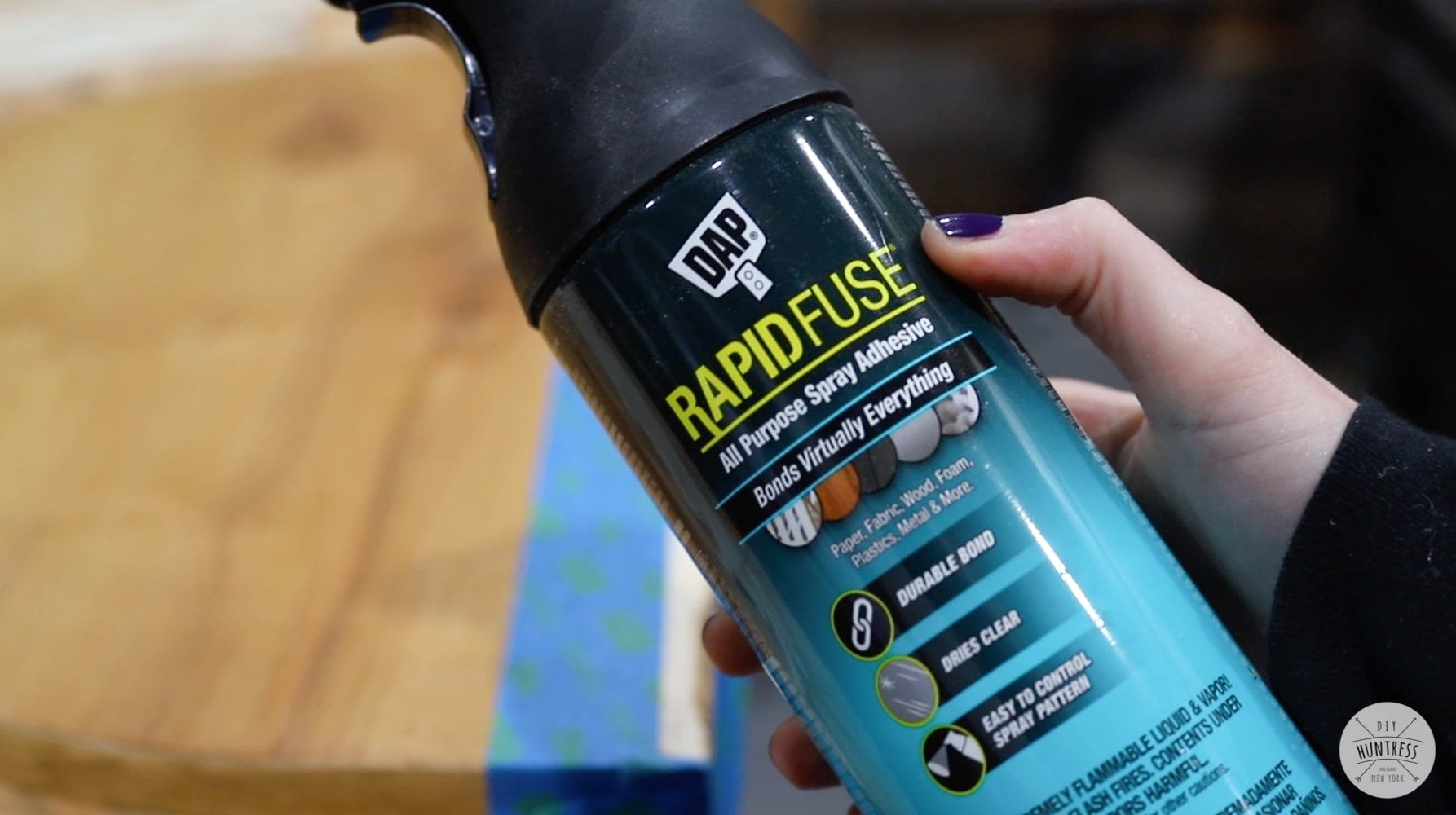 DAP rapid fuse adhesive spray