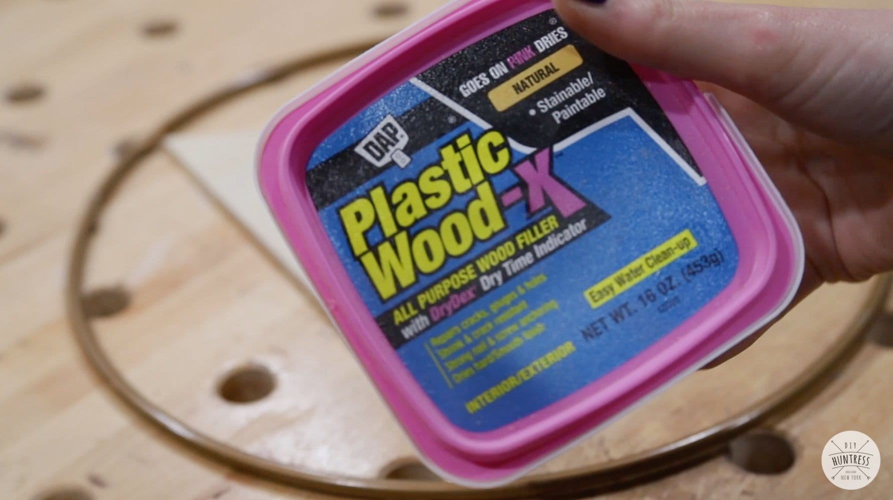 DAP plastic wood x filler