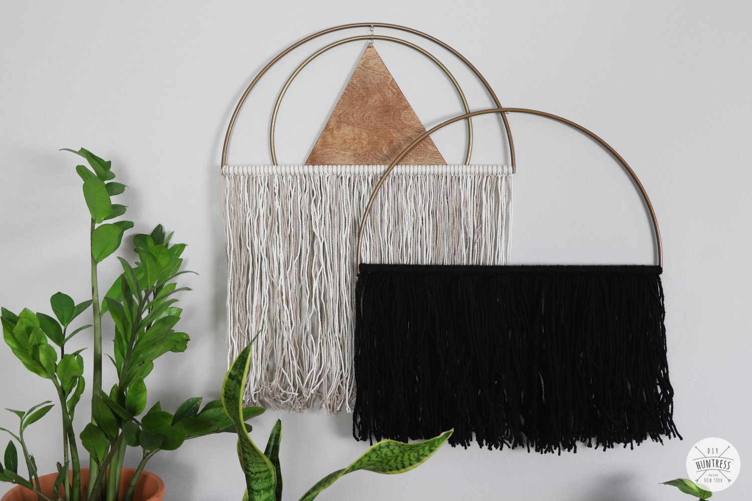 how to make boho wall art