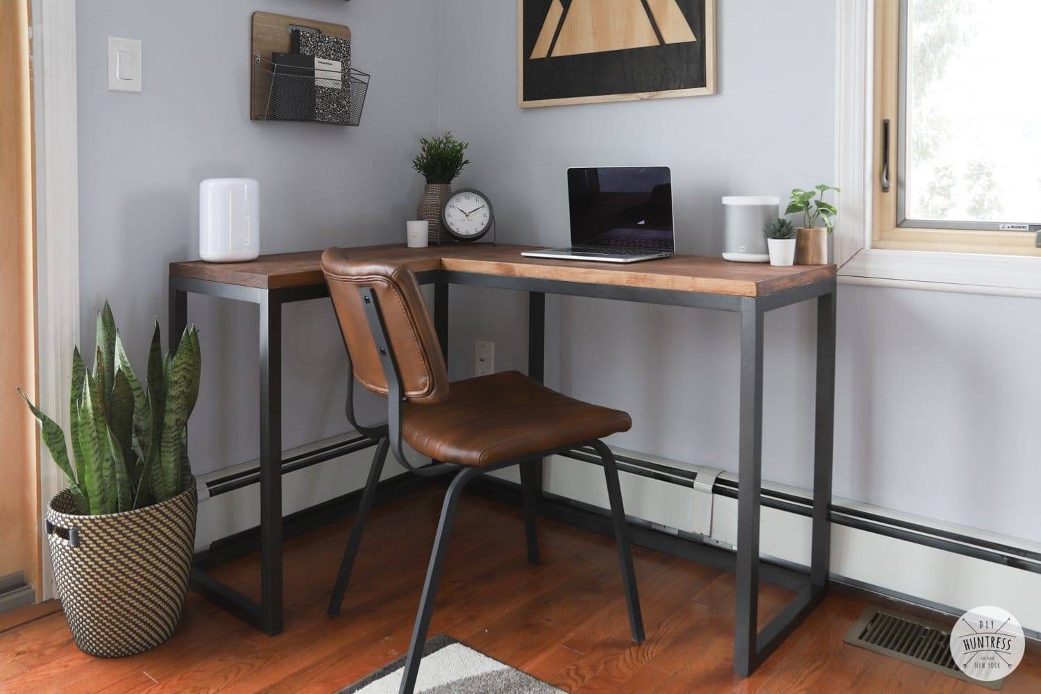diy desk woodworking plans