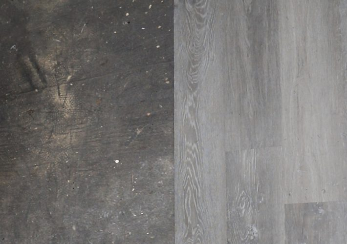 before and after vinyl plank flooring