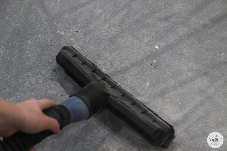 how to clean workshop floors