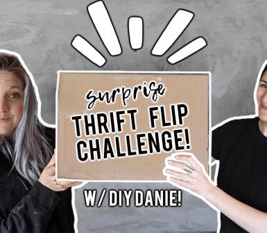 DIY Huntress and DIY Danie Thrift Flip Challenge